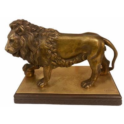 Le Lion Par Jean-françois Théodore Gechter (1795-1844)