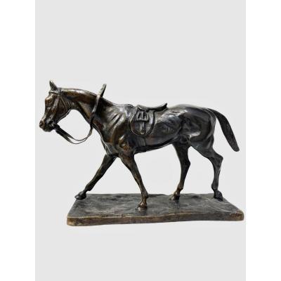 Cheval Par Gaston D' Illiers (1876-1932)