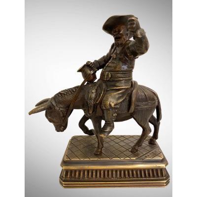 Sancho Panza Par Alfred Barye (1839-1895)