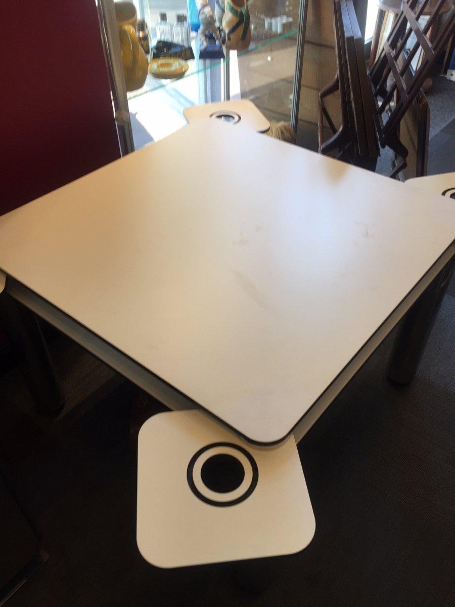 Jo Colombo Poker Table Pour Zanotta