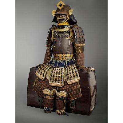 armure samourai ,Namban Do Gusoku,edo,kabuto Signé Saotome Expose Et Publie à 1000 Ans d art du japon,Nantes