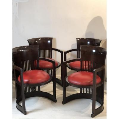 Barrel Chair, Frank Lloyd Wright, Cassina