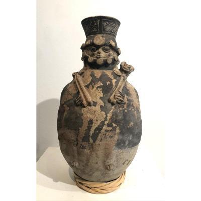 Urne  funéraire Chancay, Perou  1100-1500 AC