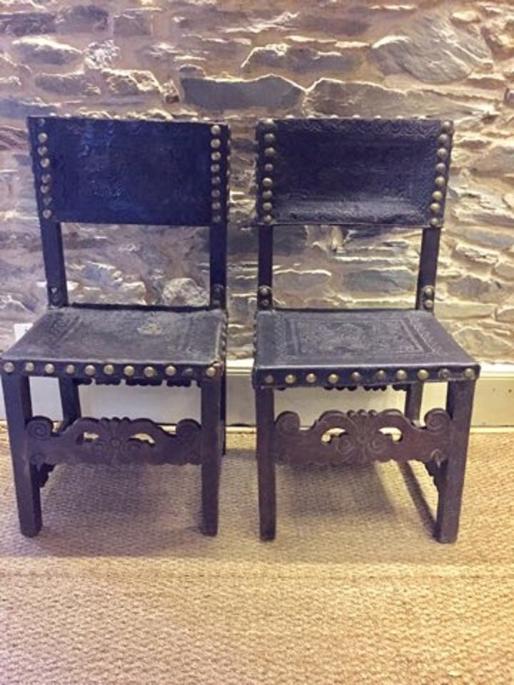 Pair Of Portuguese Chairs