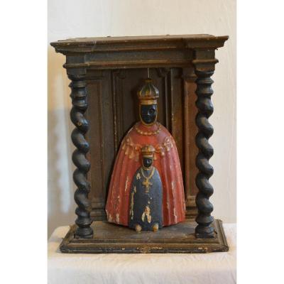 Vierge Noire XVII- XVIIIème Siècle