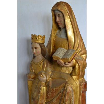 Sainte Anne éducatrice Fin16ème siècle
