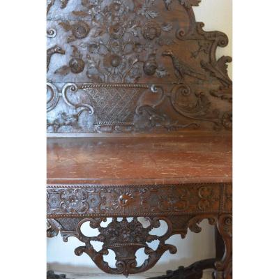 Table à Gibier d'époque Régence