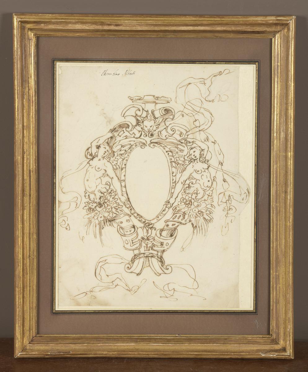 "Cherubino Alberti ""projet De Médaillon"" Circa 1600"