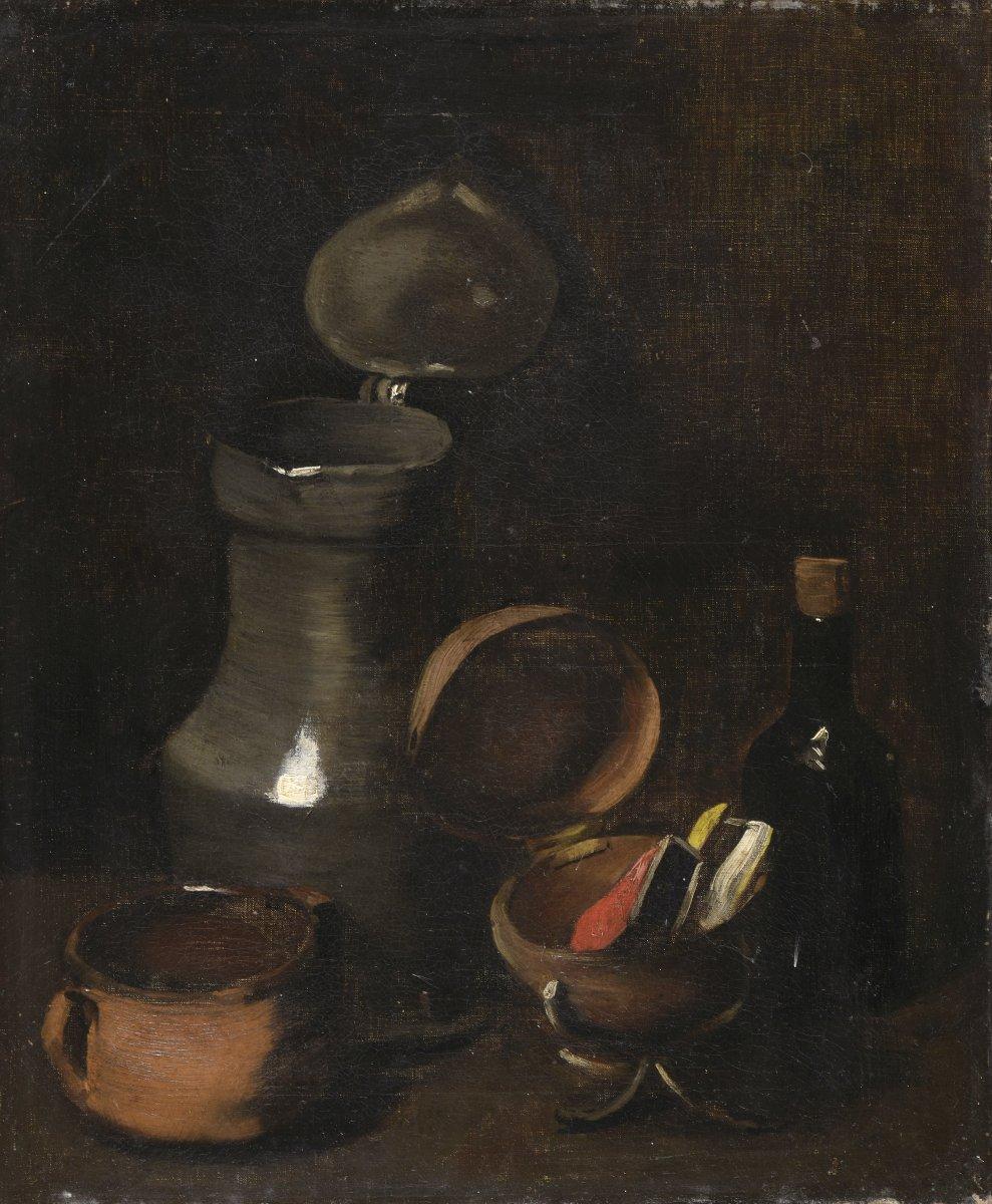 """Nature morte"" Théodule Ribot (1823-1891) Circa 1860"