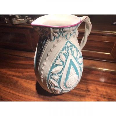 Paire De Pichets En Céramique De Keramis