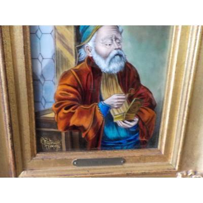 Curious Email Representative An Antique Dealer Self-portrait ??????