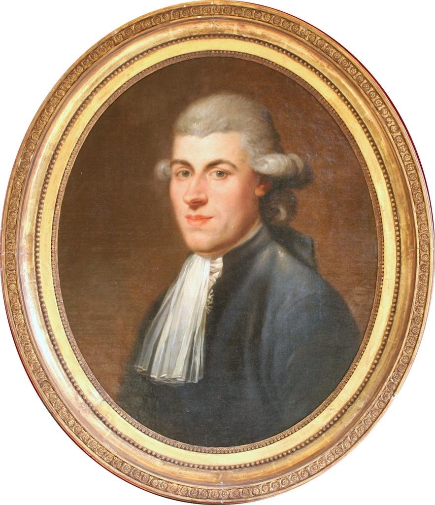 Anton Hickel, Portrait d'un homme de qualité