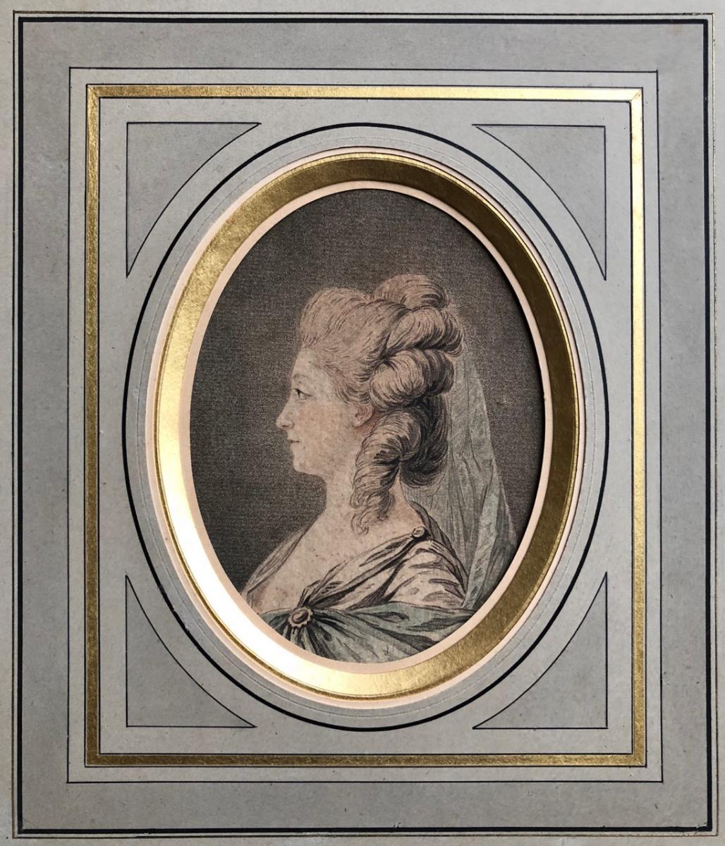 Colombe l'Ainé, Portrait Gravé d'Après J.A. Lemoine