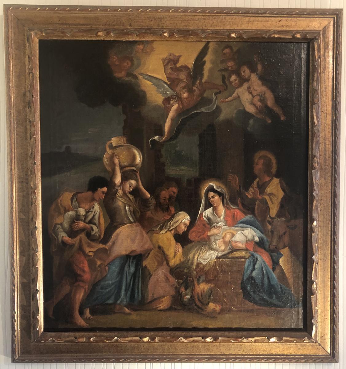 Nativité, Adoration Des Bergers