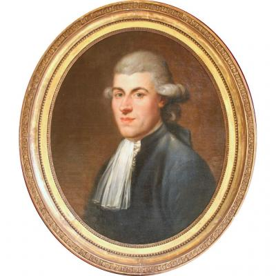 """Anton Hickel, Portrait """"Député du Tiers-Etat"""""""