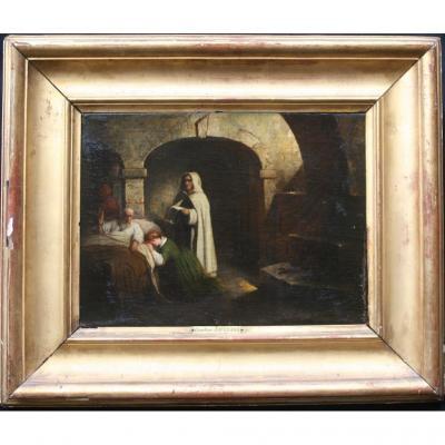 Claudius Jacquand (1803-1878) l'Inquisiteur, La Sentence Et Le Prisonnier