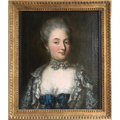 Portrait D'une Archiduchesse, présumée Marie-Antoinette