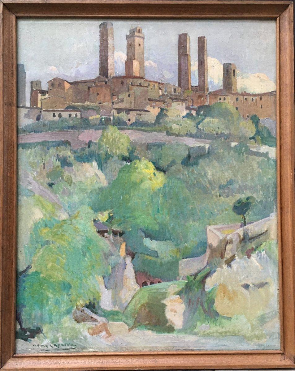 William Laparra, San Gimignano
