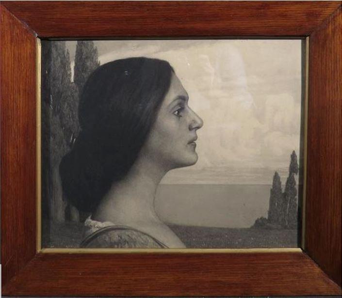 Georg Jahn, The Ideal Woman, Pointe Sèche