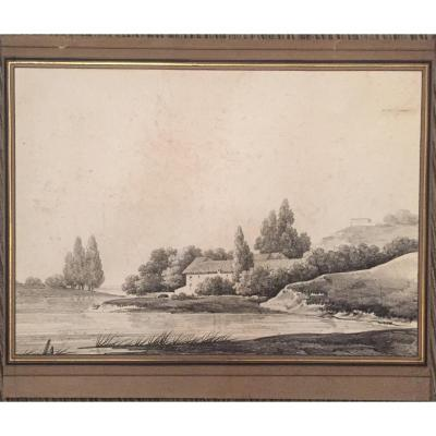 Alphonse Nicolas Michel Mandevare, Landscape