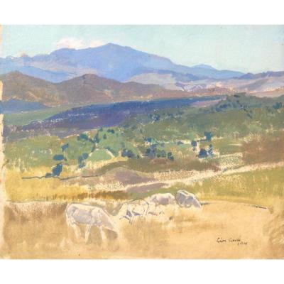 Léon Carré, Paysage De l'Atlas