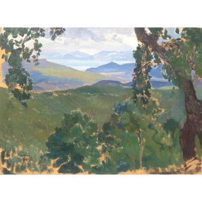 Léon Carré, Algerian Landscape