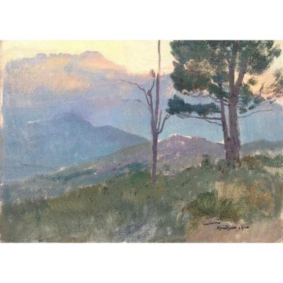 Léon Carré, Landscape Of Djurdjura