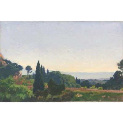 Georges Paul Leroux (1877 - 1957), Villeneuve Lès-avignon