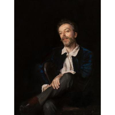Dimitri Kouznetzov (1852 - 1924)  Portrait d'Homme  