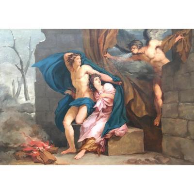 Circa 1800 - Allegory Of Winter