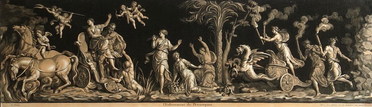 Perrier, L'enlèvement De Proserpine, Aquatinte