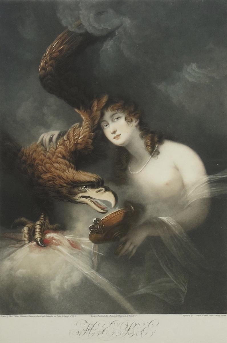 Turner, Villiers, Hébé, Manière Noire, 1814