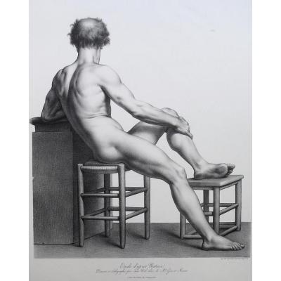 Nöel, Académie, Lithographie