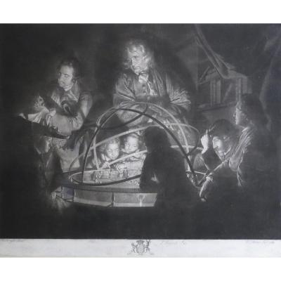 Pether, Wright, A Philosopher, Manière Noire, 1768