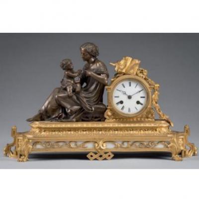 Pendule Napoleon III, Vers 1860