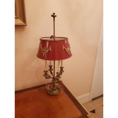 Lampe Bouillote De Style Louis XVI , époque Fin XIXème .