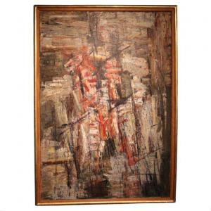 Peinture Abstraite Par Wilfrid Moser
