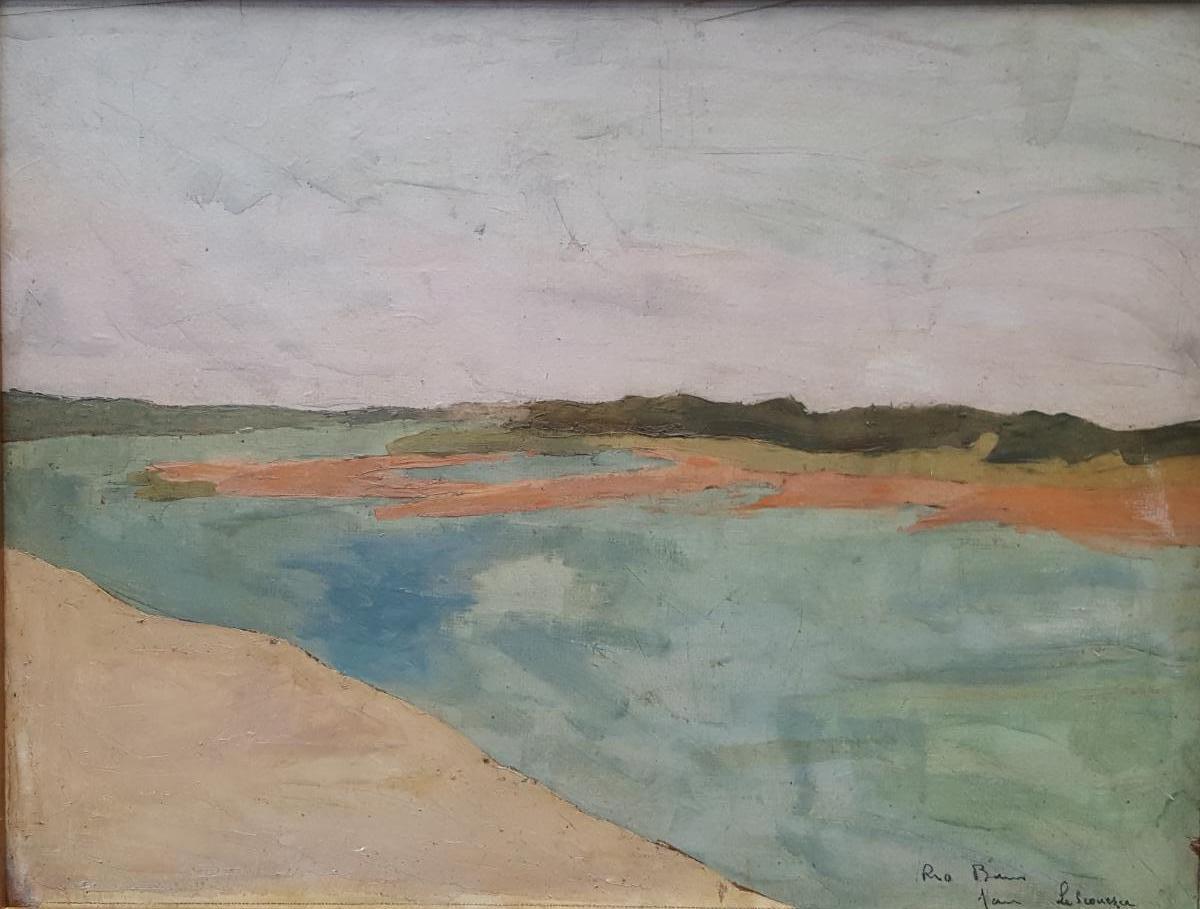 Huile de Maurice Le Scouezec Rio Bravo