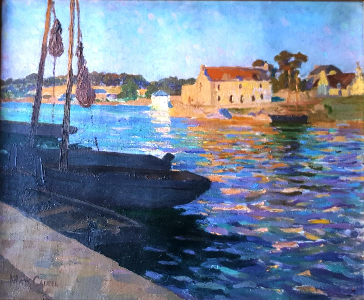 Madeleine Caudel, The Passage From Lanriec To Concarneau Brittany
