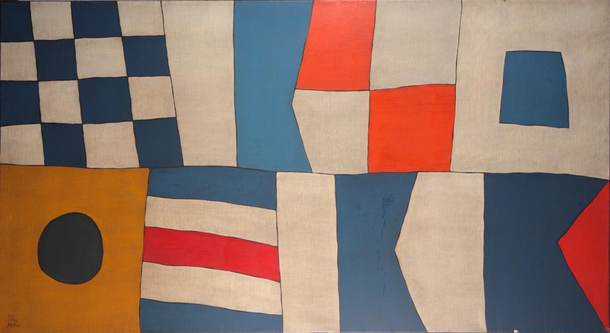Tetzuo Mizu, 1944 Tokyo, Nausicaa, Huile Sur Toile , 1994, 82x150 Cm