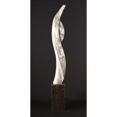 Sculpture Marbre, Seconde Partie Du 20ème Siècle, Pays-bas