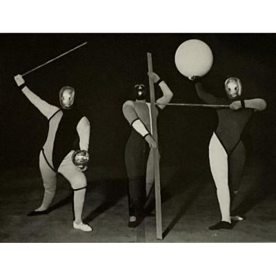 Film Photo By Erich Consemuller From A Ballet By Oskar Schlemmer