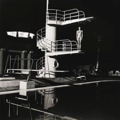 Helmut Newton, Tirage Vintage, «Tour De Plongée, Old Beach  Hotel» , Monte Carlo , 1981