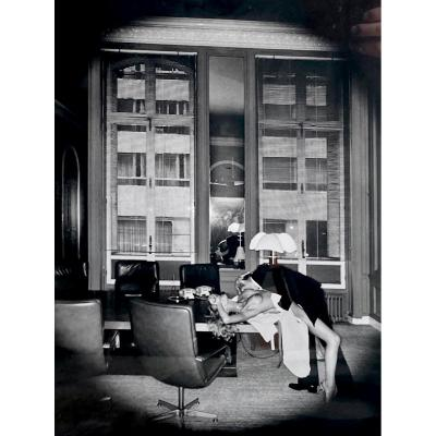 Helmut Newton, «office Love» , Paris, 1976