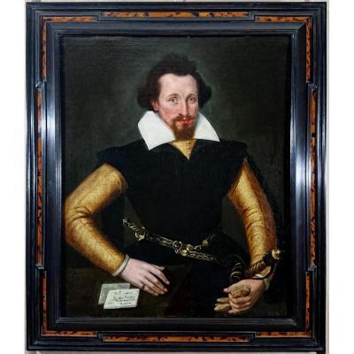 Portrait D'un Gentilhomme, Monsieur Desmoundt Peint En 1601.