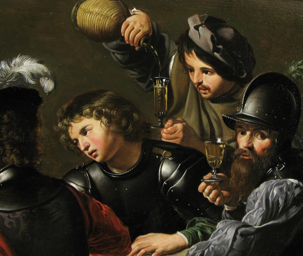 Ecole Française du XVIIème Siècle, Suiveur de Valentin de Boulogne.