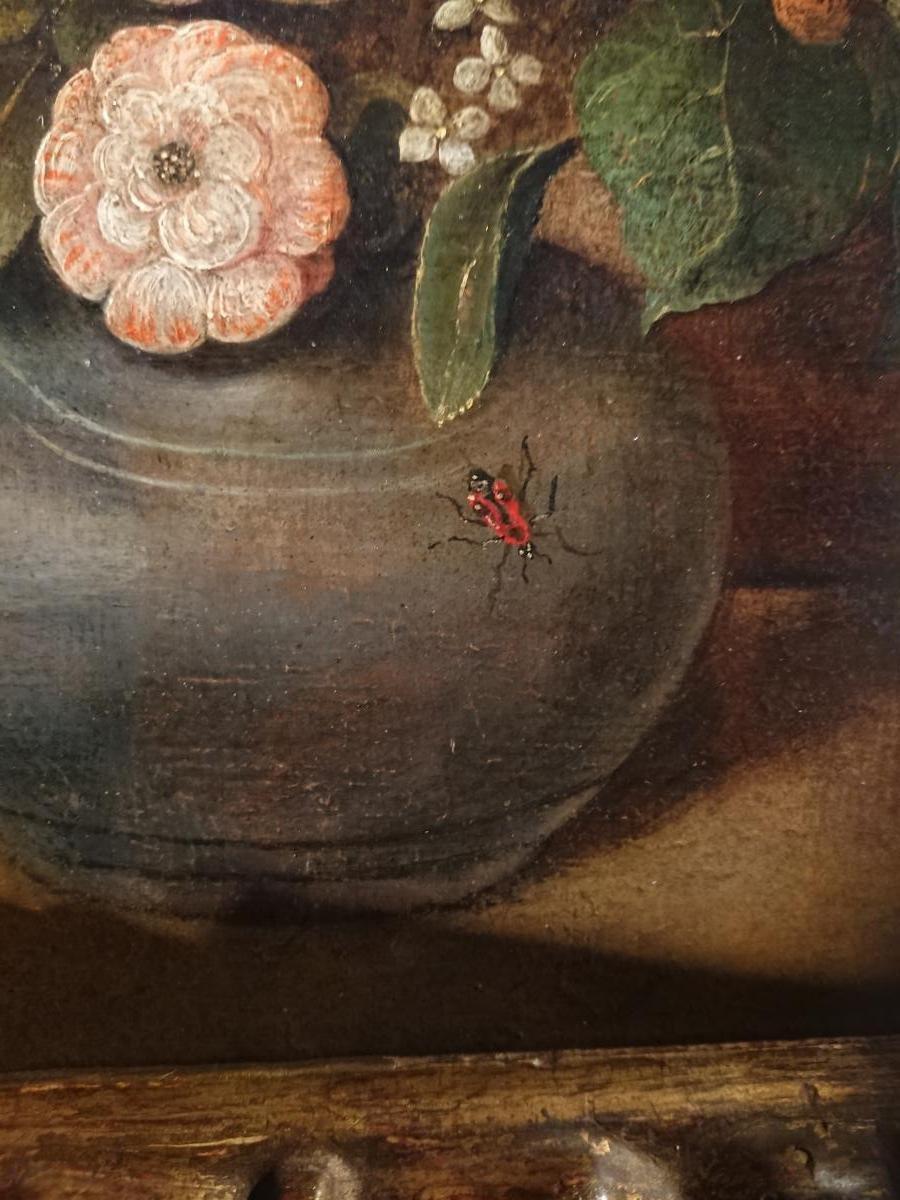 Bouquet De Fleurs Dans Un Vase, Atelier De Piter Binoit (1590-1632)