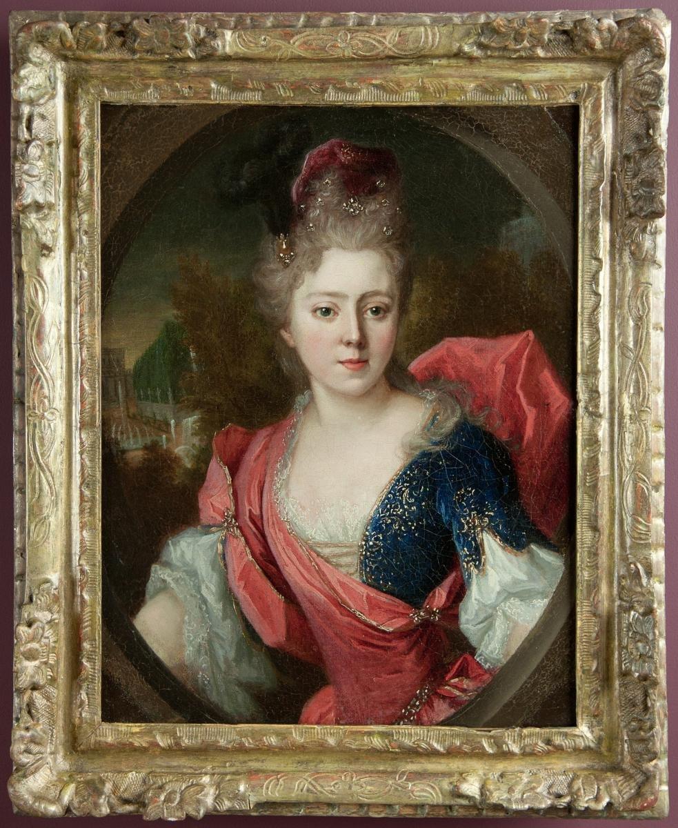 Portrait d'Helene Lambert de Thorigny, Atelier de Nicolas De Largillierre.