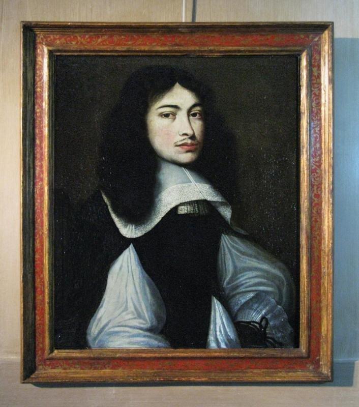 Portrait d'homme peint en 1659, Atelier De Wallerant Vaillant (1623-1677)