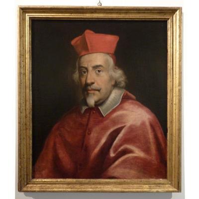 Portrait Présumé du Cardinal Giulio Rospigliosi, école de Carlo Maratta Vers 1660